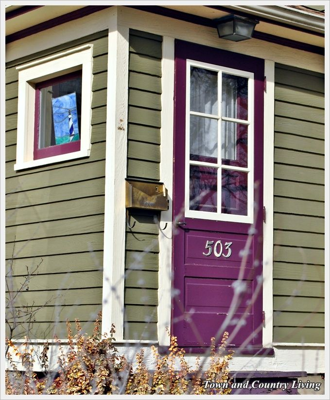 33 best I Need a Purple Door, How \'Bout You? images on Pinterest ...