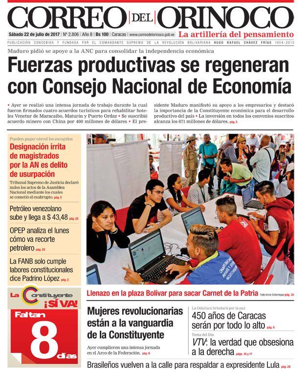 Estas son las portadas de los diarios nacionales y regionales de este sábado