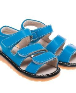 Little Blue Lamb | Lincoln | Toddler Sandals Cool blue summer sandals from Little Blue Lamb.