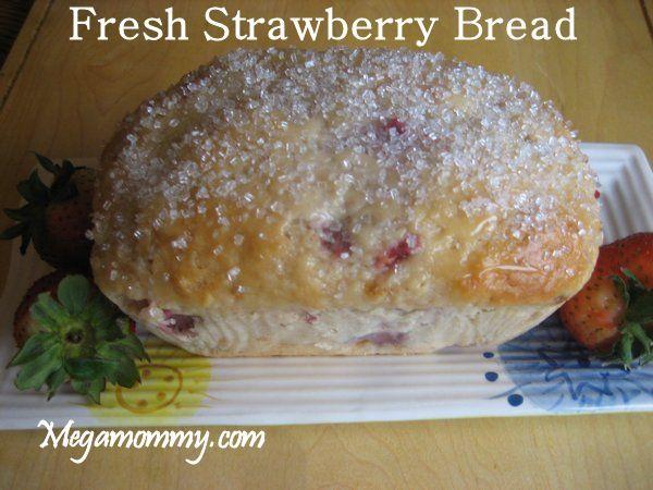 Fresh Strawberry Bread | Breads & Muffins | Pinterest