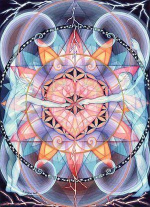 geometria sagrada arte | Illustratus: A arte visionária de Francene Hart