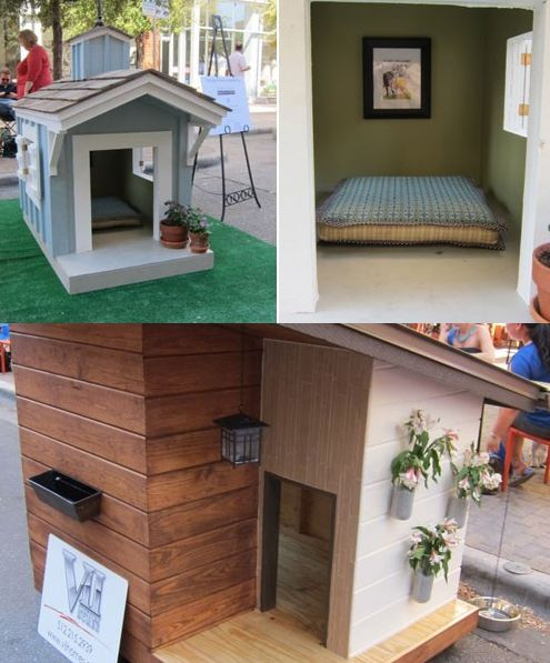 6 Awesome Dog Houses