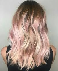 Kuvahaun tulos haulle rose gold highlights