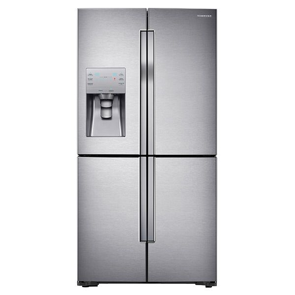 23 cu. ft. Capacity Counter Depth 4-Door French Door Refrigerator with Cool Select Plus (Stainless Steel)