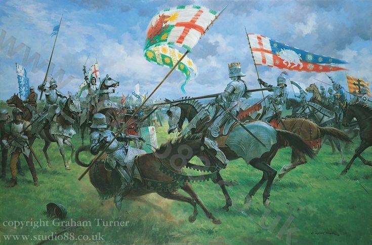 The Battle of Bosworth - King Richard III's Charge