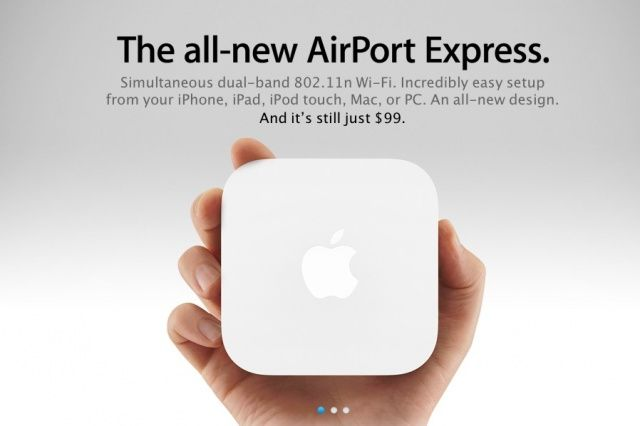 Apple Airport Express, one of Apples most underrated products