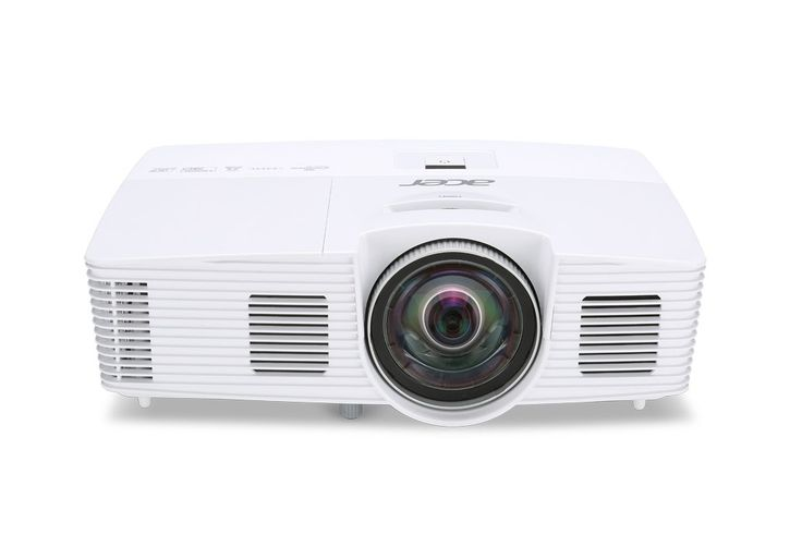 Acer S1283Hne 3D Projector 120Hz 3100 Lumens with HDMI, Stereo Speaker. Native Resolution: 1024x 768; Maximum Resolution: 1920 x 1200. 13,000:1 Contrast Ratio. Display Colors: 1.07 Billion (30-bit). Brightness: 3100 lm Standard.