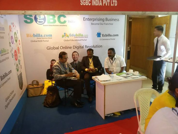 #Franchise_India and Indian #Franchise Association has organized the biggest franchise show in #India, named as #FRO 2015. #SGBCIndia from #digital_marketing industry made their presence in the #expo.
