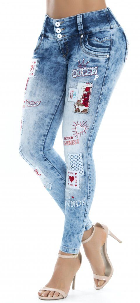 Jeans levanta cola WOW 86321