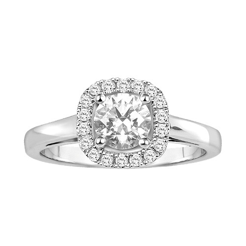 Superb Canadian Diamond Engagement Ring in K White Gold Fred MeyerStyleDream