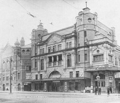 Royal Hippodrome Great Victoria Street Belfast Jul 1908