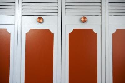 How To Paint Wood Door Frames In Two Colors Home