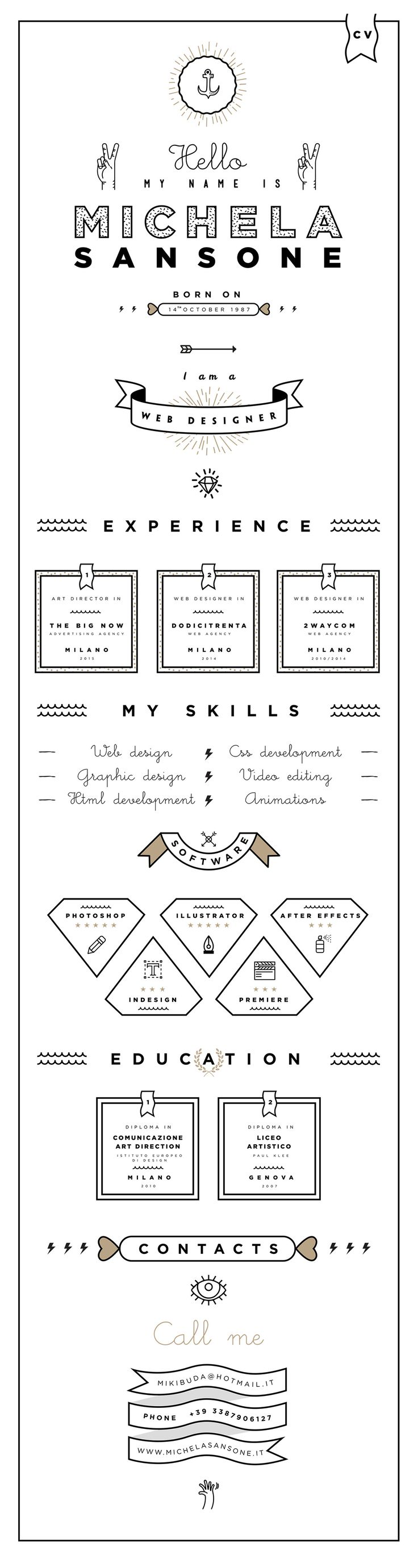 22 best cv images on pinterest