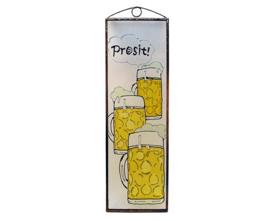 Prosit! - Painted Glass