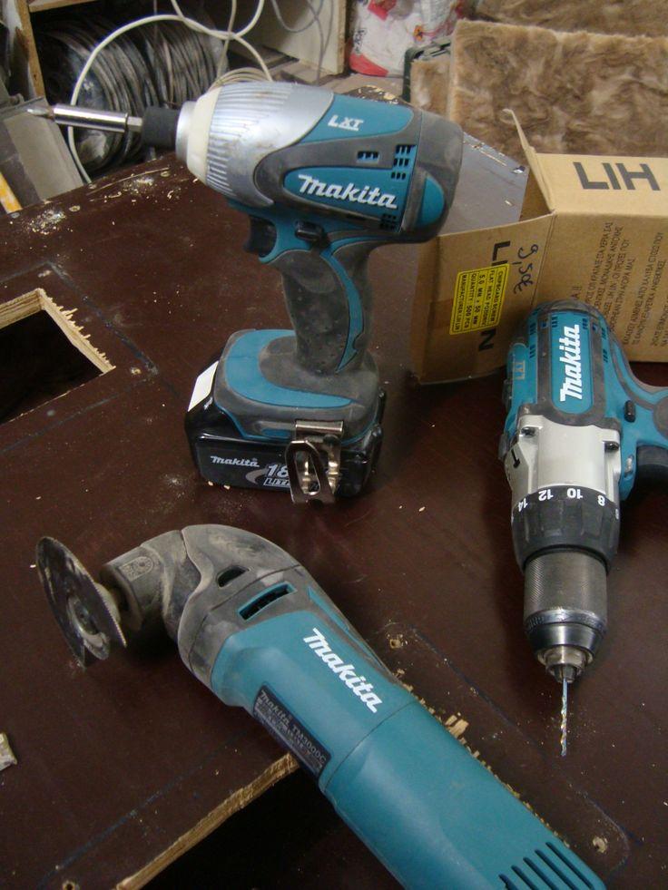 Makita LXT202 18 volt  Lithium-Ion  BHP451 combi drill, BTD140 impact driver