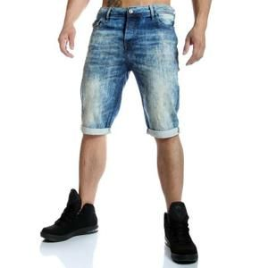 Short Cipo and Baxx - Short en jean bleach bleu clair