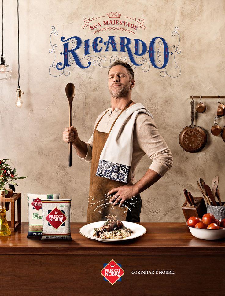 Pilecco Nobre | Cozinhar é Nobre on Behance