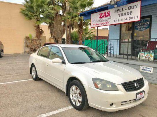 Sedan, 2006 Nissan Altima 2.5 with 4 Door in El Cajon, CA (92021)