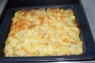 Konyhabűvész: Nyárias rakott krumpli csirkével, friss gyümölcs s...