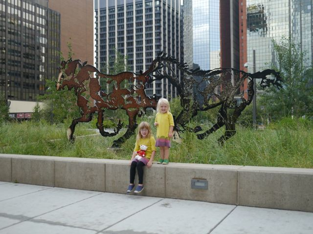 Amazing sculptures in Calgary