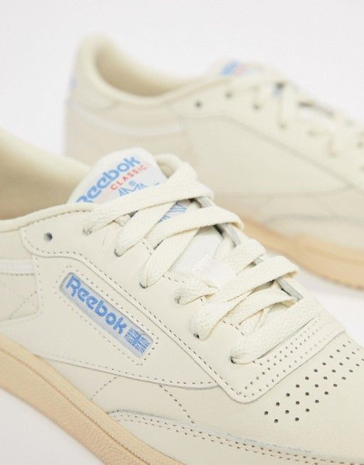 Reebok Club C 85 Chalk Sneakers in 2019  42367b9c7