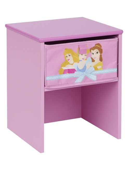 Disney Princess Bedside Table  Transform your room into a fantasy world with this fabric covered bedside table. Storage drawer and  http://www.comparestoreprices.co.uk/childrens-furniture/disney-princess-bedside-table.asp  #disney #disneyfurniture #kidsfurniture #childrensfurniture