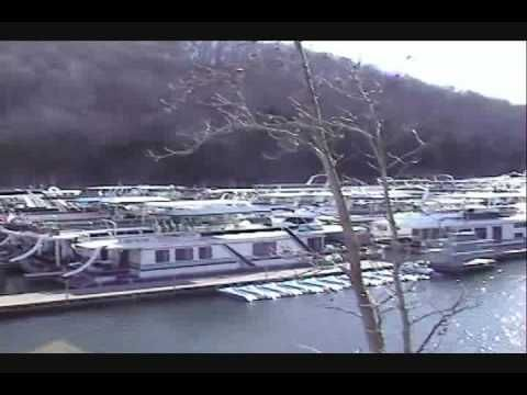 2013 Sailabration 16 x 66WB Pontoon Houseboat For Sale on the Tennessee River near Knoxville TN - YouTube