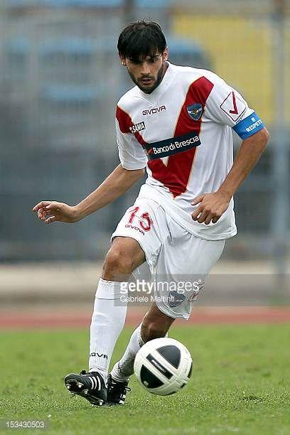Marco Zambelli of Brescia Calcio in action during the Serie B match between Empoli FC and Brescia Calcio at Stadio Carlo Castellani on September 29...