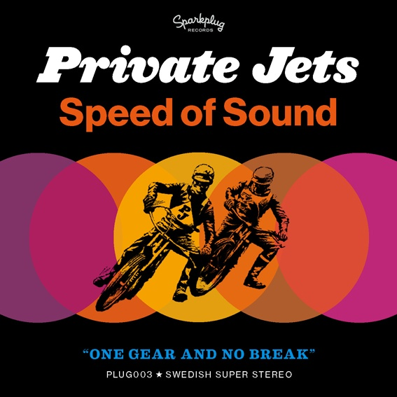 "Private Jets single ""Speed Of Sound, cover design."