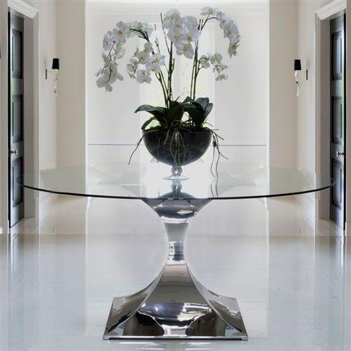 Round Hallway Table