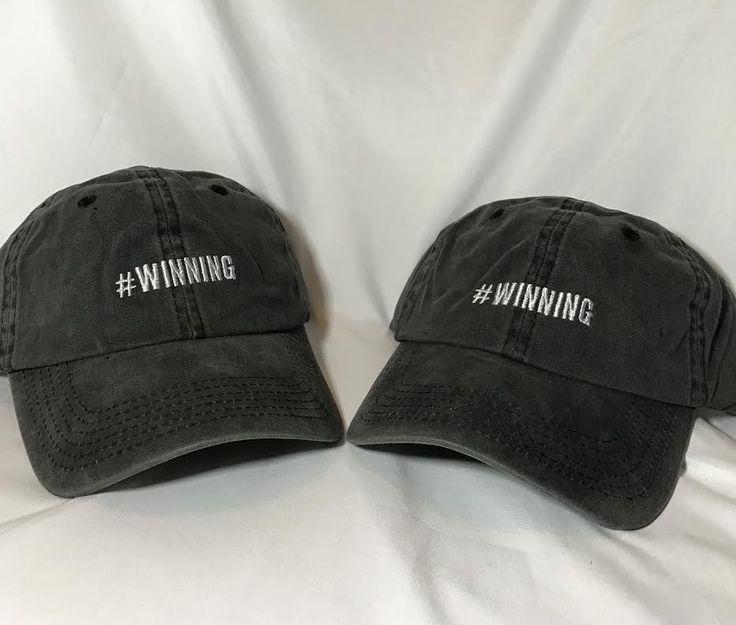 #WINNING Vintage Baseball Hat
