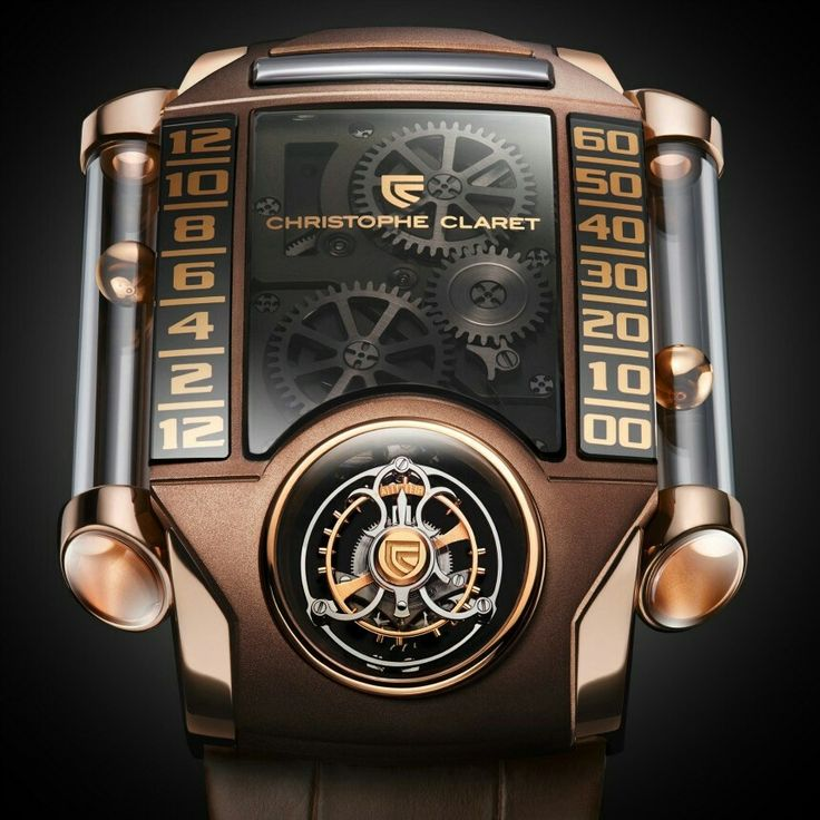Christophe Claret X-Trem-1 Chocolate watch for men