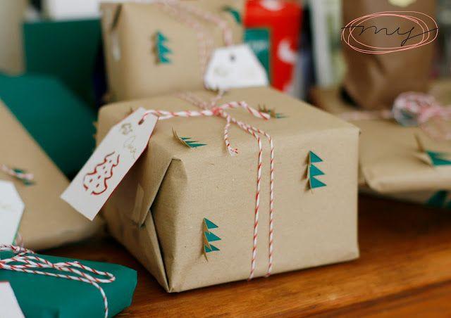 I wear my own! DIY Blog: Last Minute Geschenkeverpacken + Frohe Weihnachten...