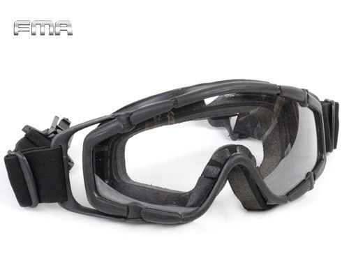 FMA Tactical Ballistic Goggle Glasses Airsoft Military 2pcs of Lens for Helmet Paintball Adjust Safety Eyewear Protective Eyes