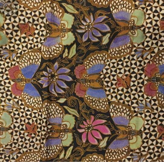 Batik Iwan Tirta: kupu hokokai