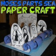 Passover Crafts for Kids: Ideas for Seder projects & activities such as Seder Plates, Kiddish Cups, Matzah Covers, Moses Crafts for Jewish Children