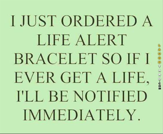 I just ordered a life alert