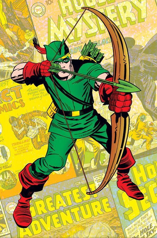 Jack Kirby's Green Arrow...iconic