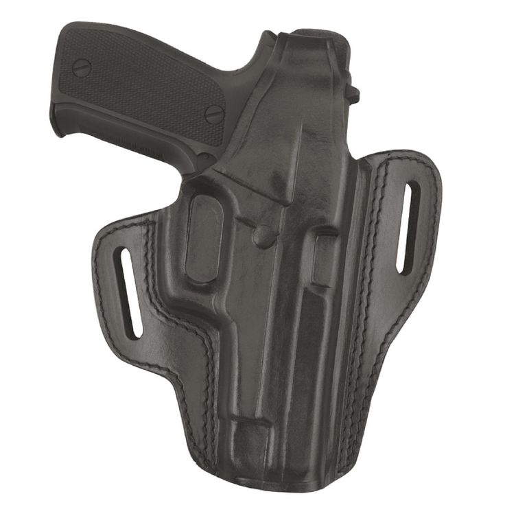 GandG Black Two Slot Pancake Holster Glock 19-23-32 RH