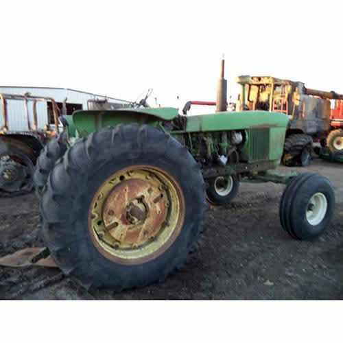 John Deere 4020 tractor salvaged for used parts. New, rebuilt and used tractor parts - All States Ag Parts. 877-530-4430