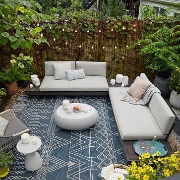 Outdoor Furniture Covers, Backyard Furniture, Patio Furniture Sets, Furniture Ideas, Outside Furniture Patio, Sectional Patio Furniture, Rattan Outdoor Furniture, Rattan Sofa, Pallet Furniture