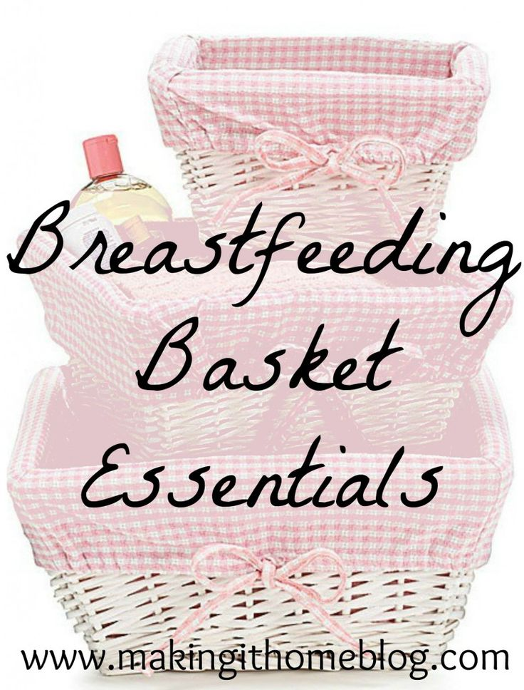 A breastfeeding basket is the best #babyshower gift for expecting mamas! This post has some great ideas on what to include in a breastfeedin...