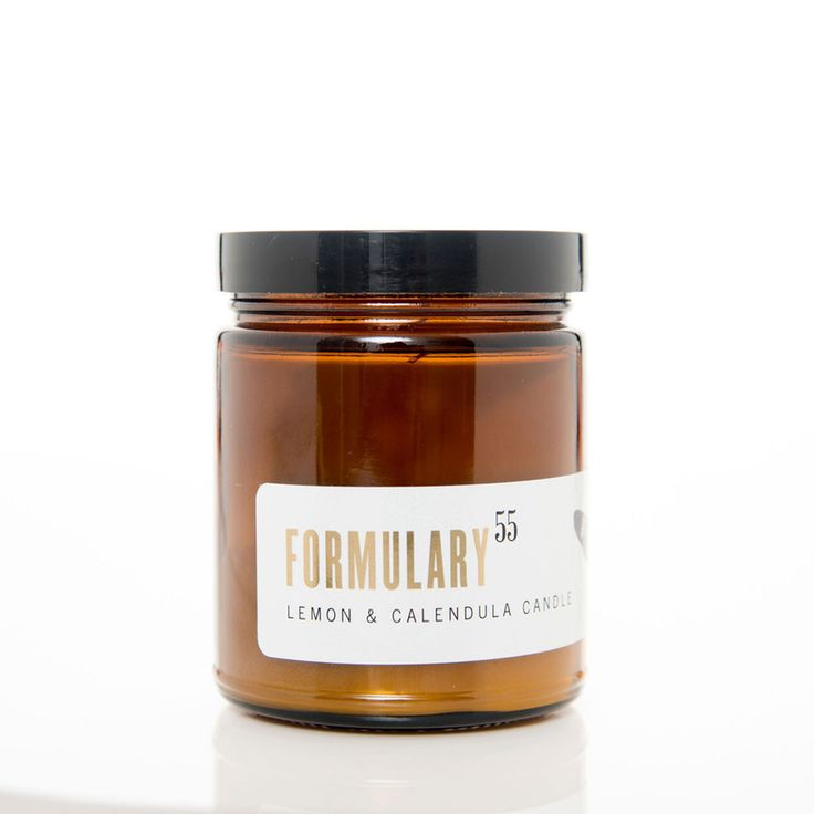 Lemon & Calendula. Shop now at The Candle Library. Formulary 55 candles are hand lured in the US using 100% natural vegetable wax.