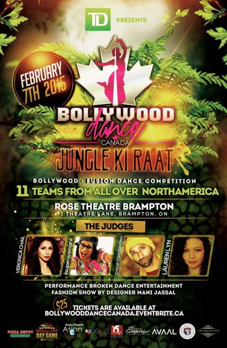 On February 7th 2015, The 2nd Annual BDC Competition will unite teams from all over the USA and Canada to come together to compete in a Filmi-Fusion Dance