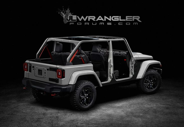 This Is Pretty Much The 2018 Jeep Wrangler