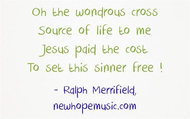 Great news…  We serve a risen Savior !