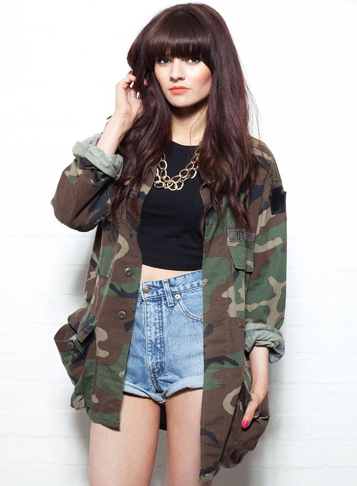 Women's US Army Camo Jacket