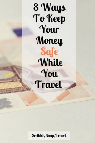 keep your money safe while you travel