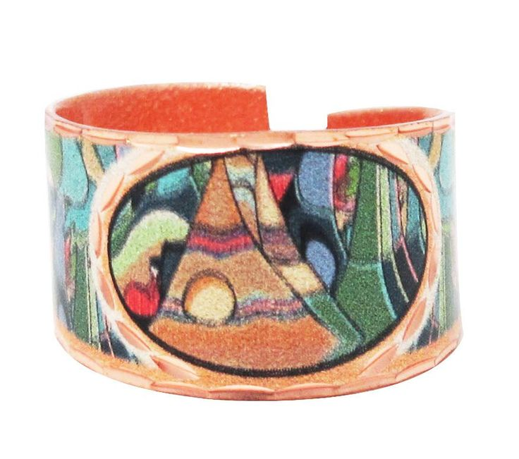Daphne Odjig And Some Watched the Sunset Artist Collection Copper Ring