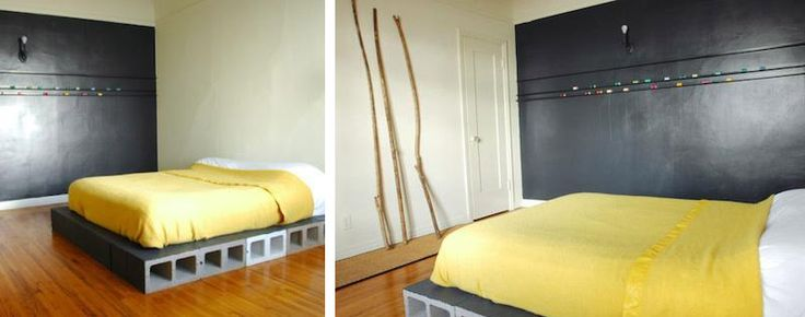 20 diy d co avec des parpaings bricolage. Black Bedroom Furniture Sets. Home Design Ideas